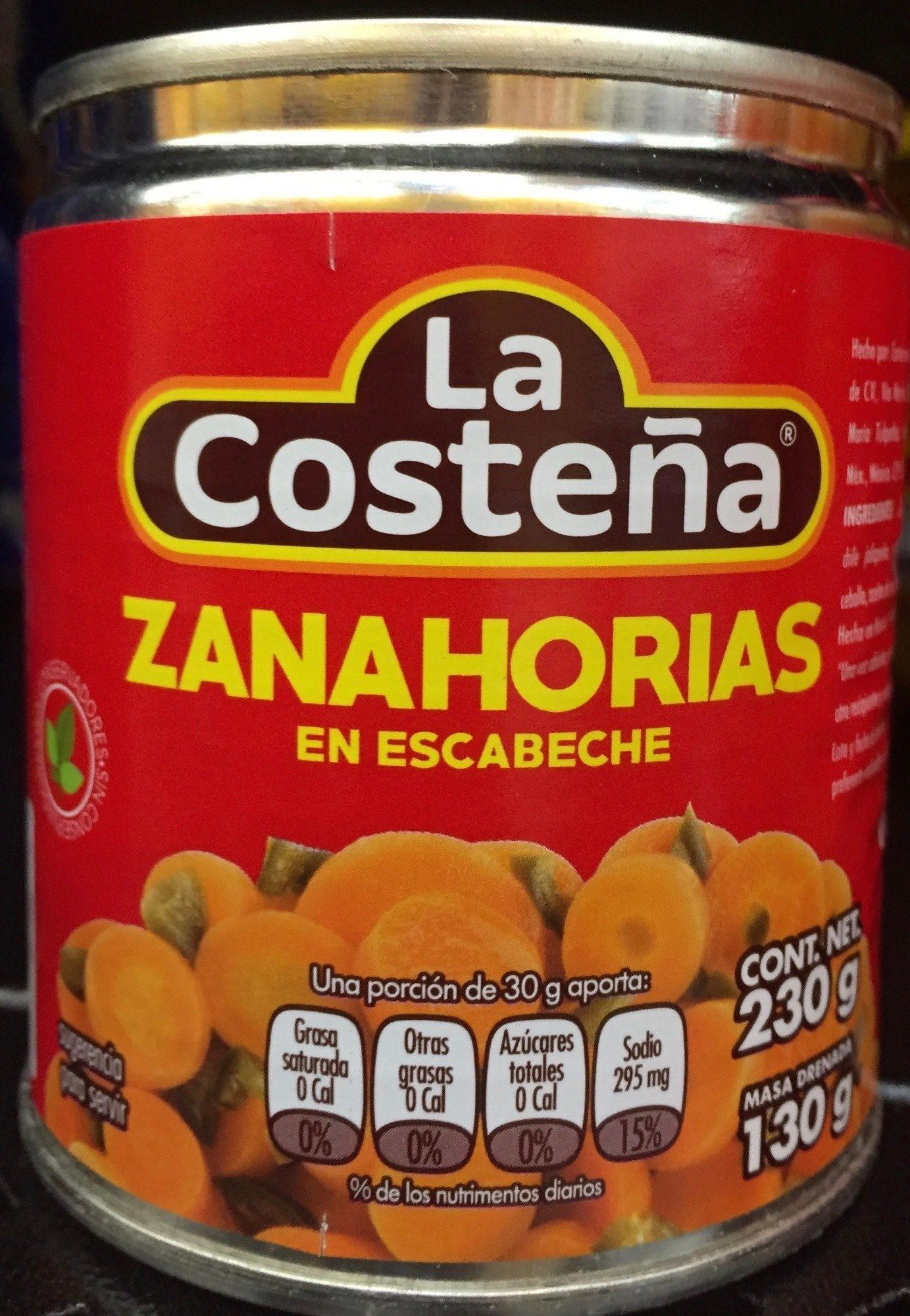 La Costena Zanahorias En Escabeche 230 G El escabeche es un método de conservación de alimentos en vinagre. https creativecommons org licenses by sa 3 0
