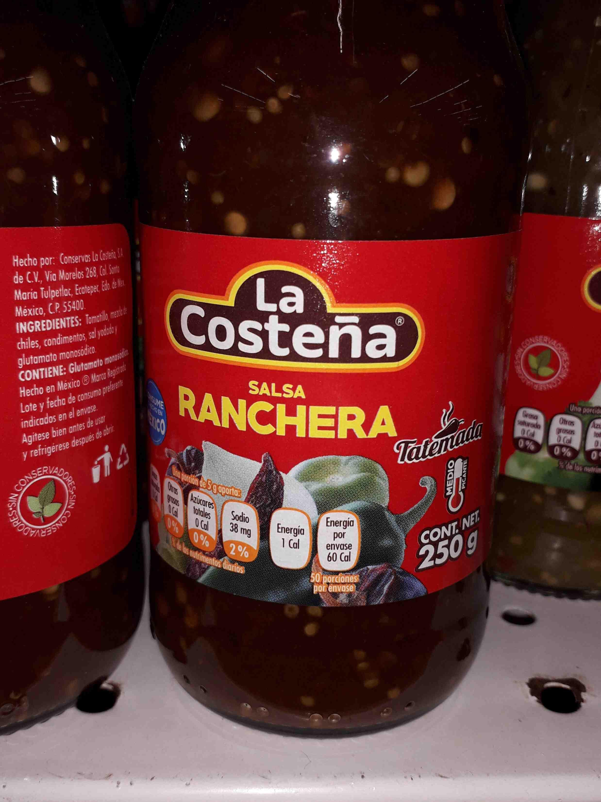 La Costeña Ranchera Salsa - Producto - en