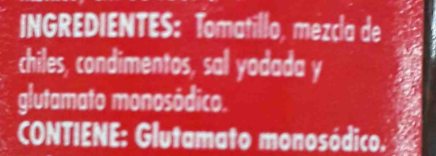 La Costeña Ranchera Salsa - Ingredientes - en