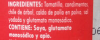 Salsa Arriera - Ingredientes - es