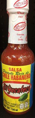 Salsa Chile Hab Rojo - Product - es