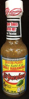 Salsa picante de chile habanero tipo Kutbil Ik - Producto - es