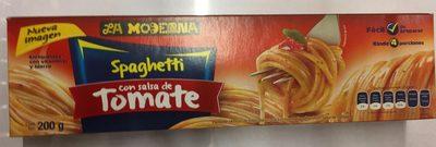 La Moderna Spaghetti con salsa de tomate - Produit - es