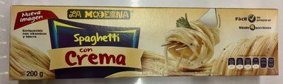 Spaghetti con Crema - Producto