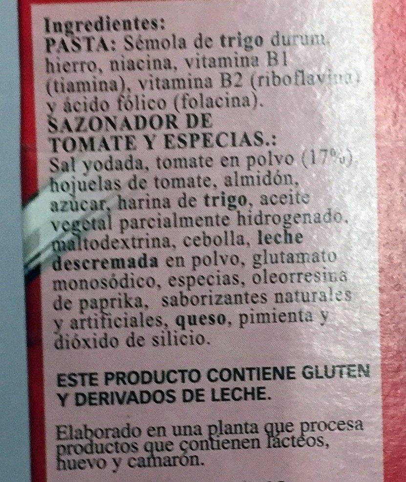 La Moderna Buen comer - Ingrediënten