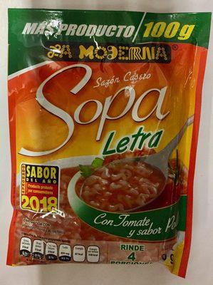 Sopa de letra - Producto - es