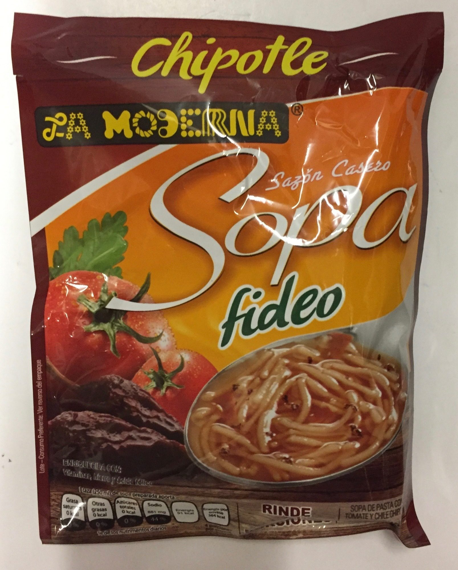 Sopa de fideo chipotle - Product - es