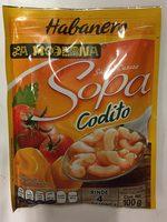 sopa de coditos abanero - Produit - es