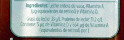 Milk - Ingredienti - es