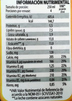 Nutri leche - Informations nutritionnelles - es