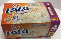 Arroz con leche Ahorra pack Lala - Product - es