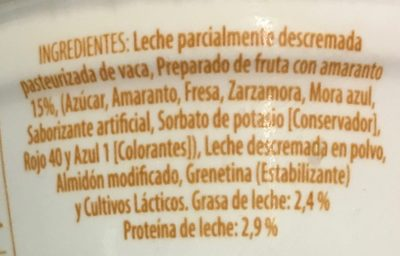 Yogur Semillas Lala - Ingredients - es