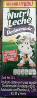 Nutri leche deslactosada - Product - es