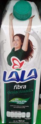 Leche fibra deslactosada LALA - Produit