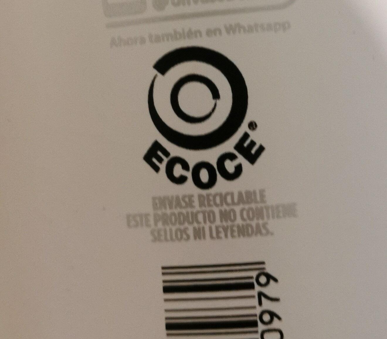 + Proteína 54g light - Instrucciones de reciclaje y/o información de embalaje - es