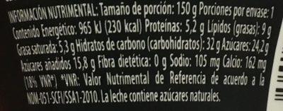 Yogur Delicias Pay de Fresa Lala - Voedingswaarden - es