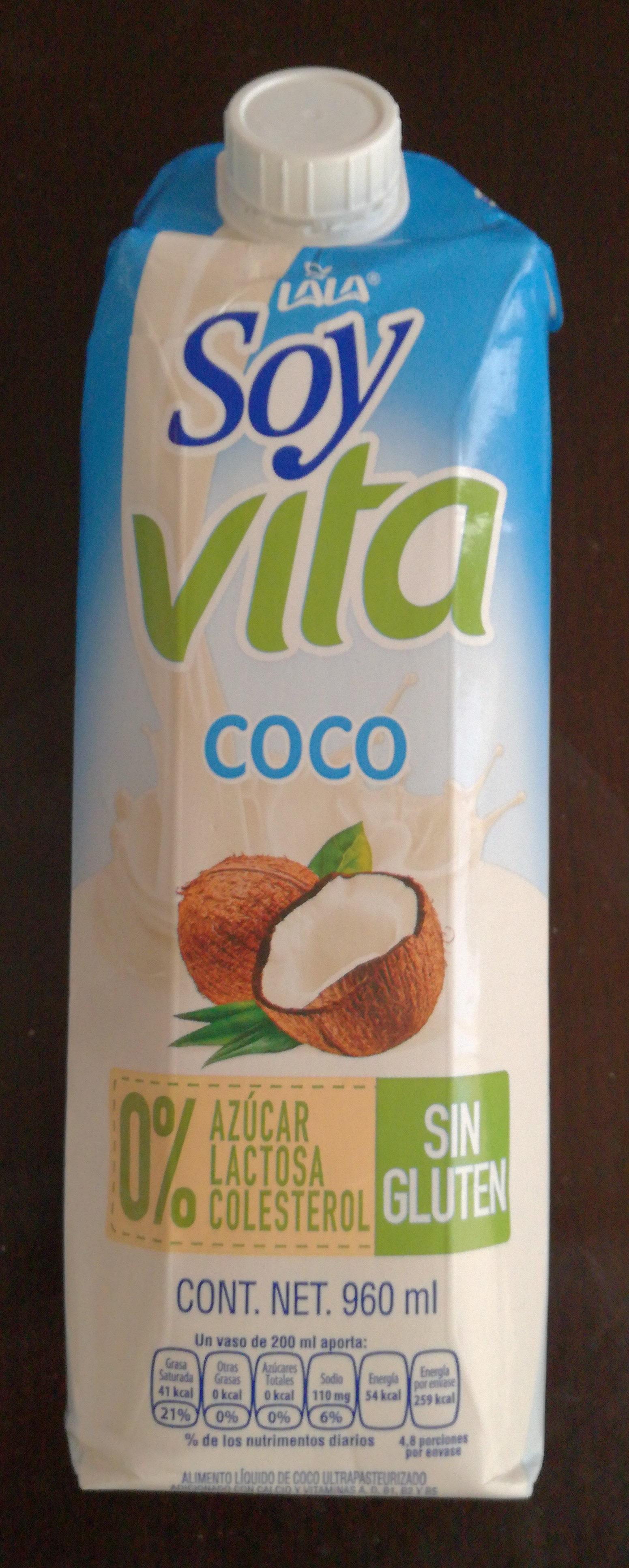 Soy vita coco - Product - es