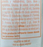 Leche de Almendras - Ingredients - es