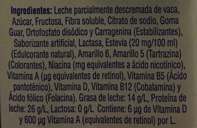 Yomi sabor vainilla - Ingrediënten