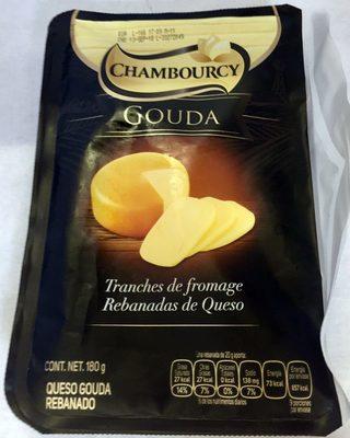 Chambourcy rebanadas de queso Gouda - Product - es