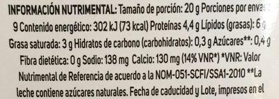 Chambourcy rebanadas de queso Gouda - Voedingswaarden - es