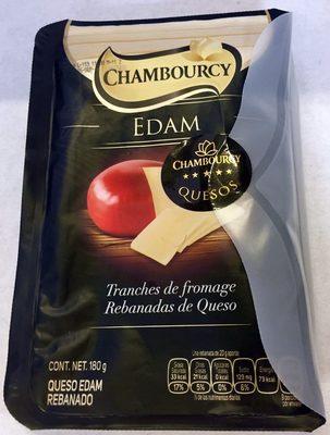 Chambourcy Edam Rebanadas de Queso - Product - es
