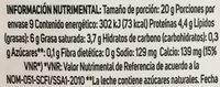Chambourcy Edam Rebanadas de Queso - Voedingswaarden - es