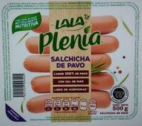 Plenia salchicha hot dog de pavo - Producto - es