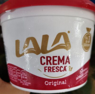 Crema lala - Producto