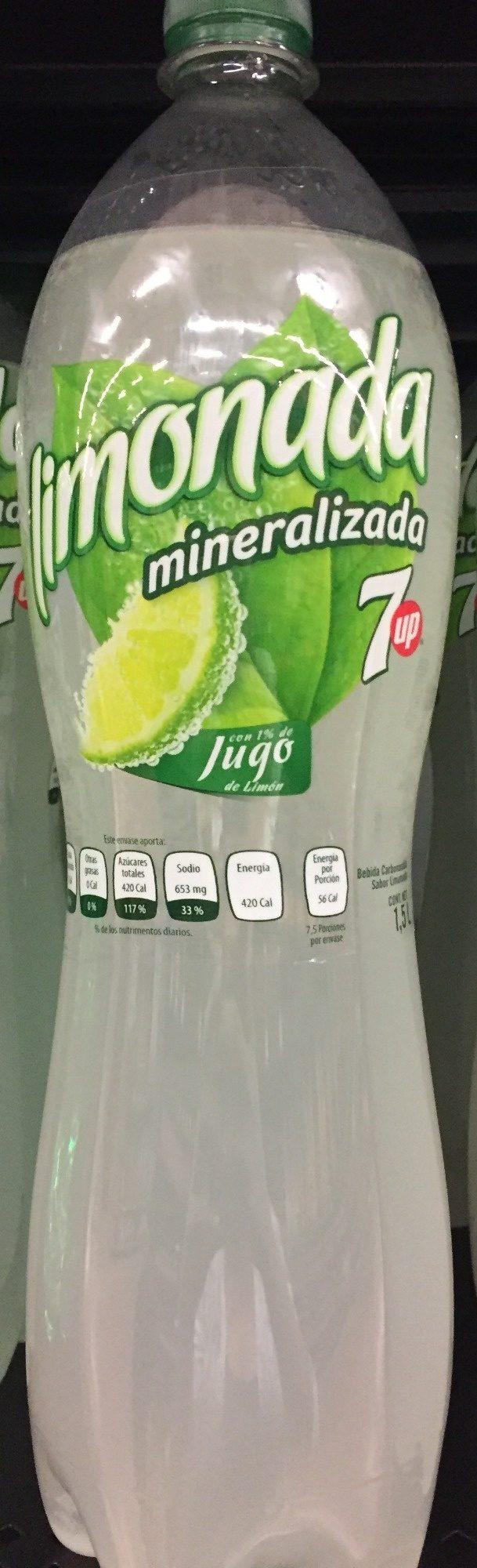 Limonada Mineralizada - Produit - es