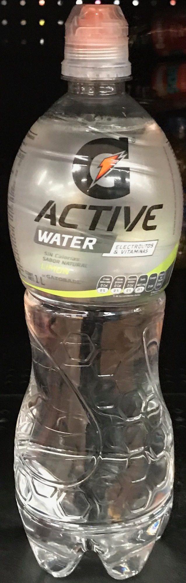 Active Water sabor limón - Produit