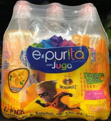 Epurita essentials con jugo de Mango 6 pack - Produit