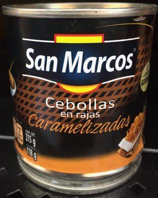 Cebollas caramelizadas San Marcos - Produit
