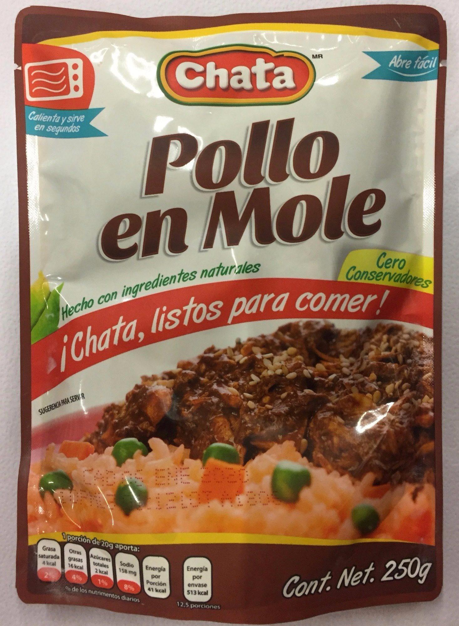 POLLO EN MOLE - Producto - es