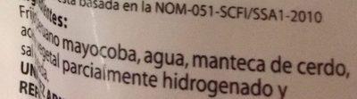 FRIJOLES REFRITOS PERUANOS MAYOCOBA - Ingredientes - es