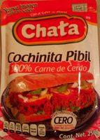 Chata, cochinita pibil shredded pork meat - Product - en