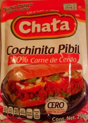 Chata, cochinita pibil shredded pork meat - Produit - fr