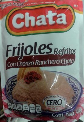 Frijoles refritos con chorizo ranchero Chata - Product