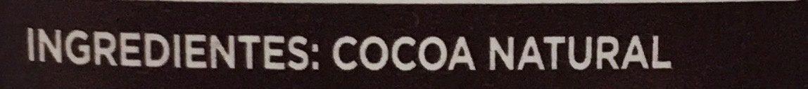 Cocoa - Ingredientes - es