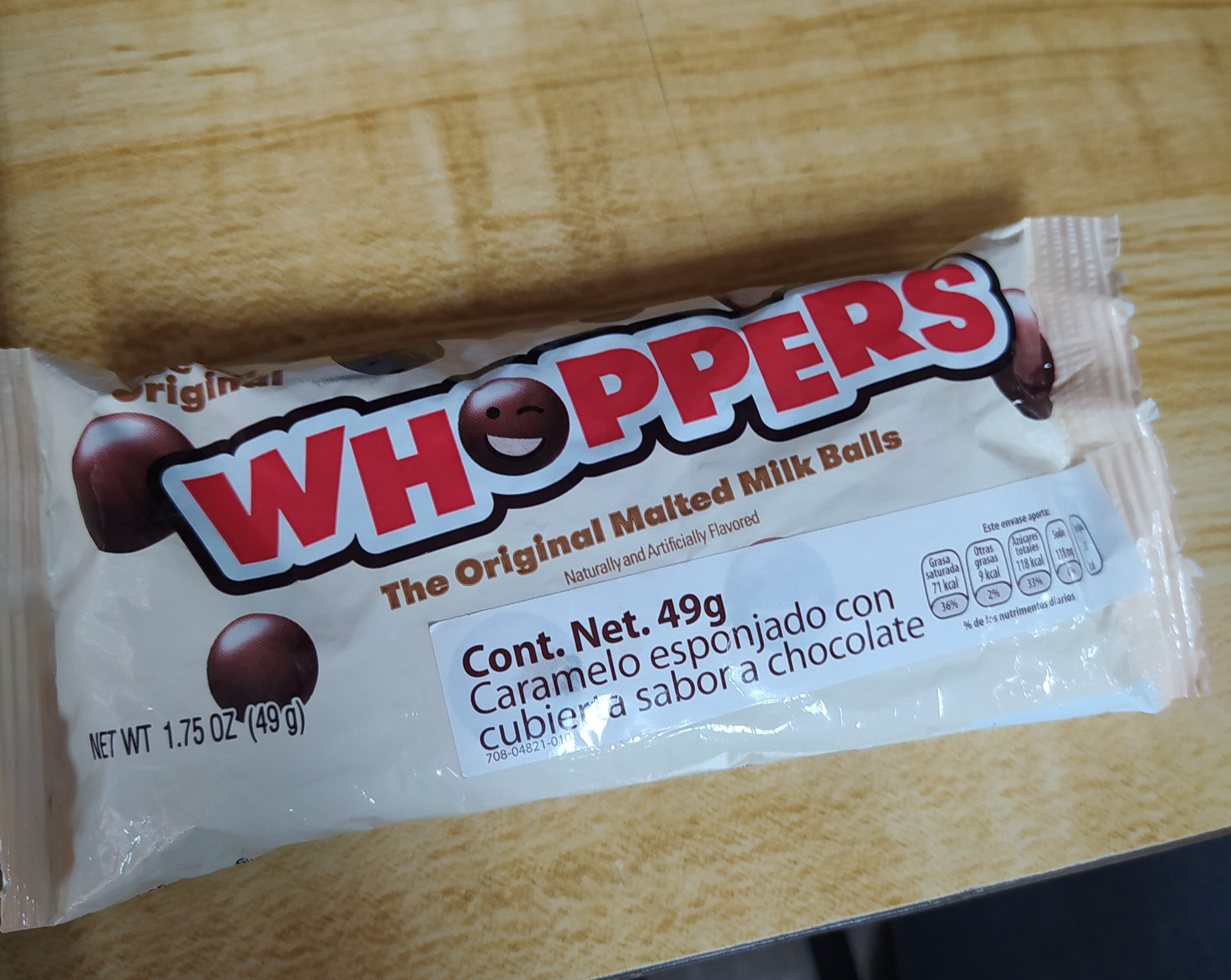 Whoppers. - Product - es