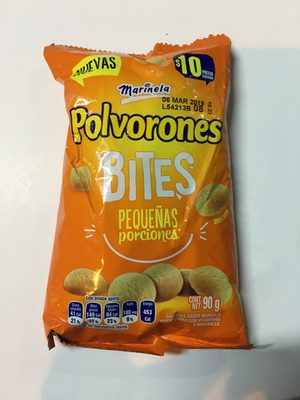 Polvorones Bites Marinela - Produit
