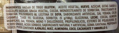 Mantecadas vainilla y chocolate - Ingredients