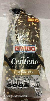 Pan con Centeno - Produit - es