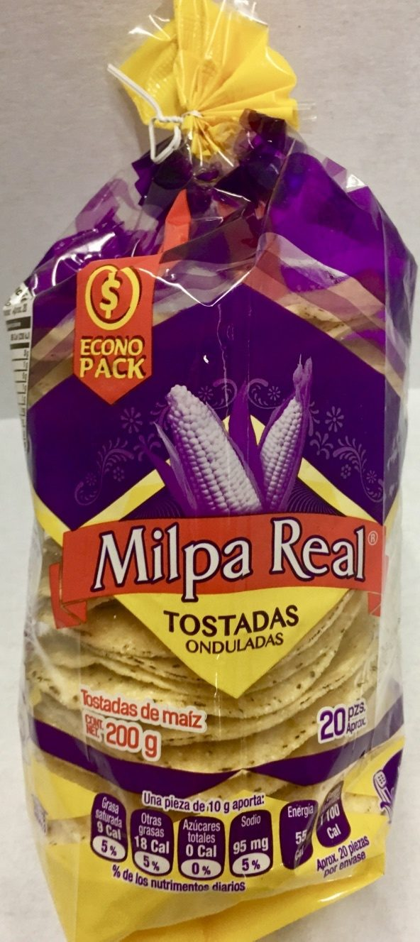 Tostadas onduladas (econo pack) - Product