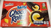 Mini choco roles - Product - es