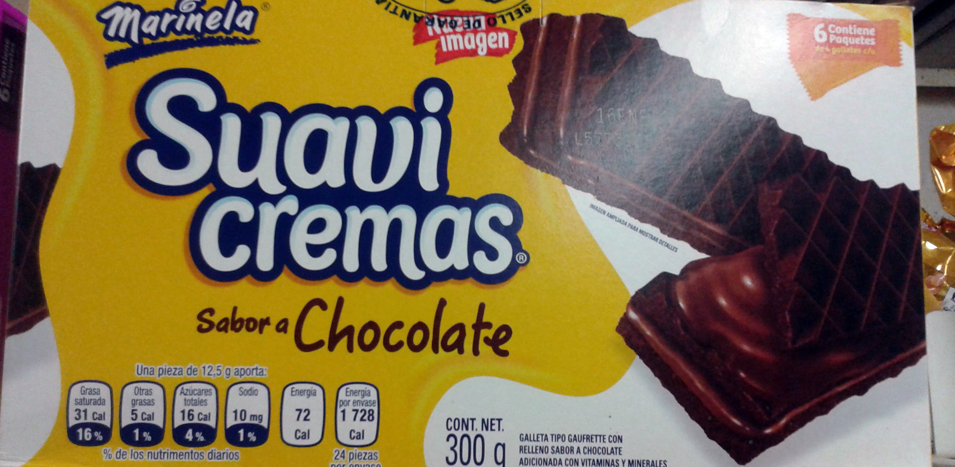 Suavicremas sabor chocolate - Product - es