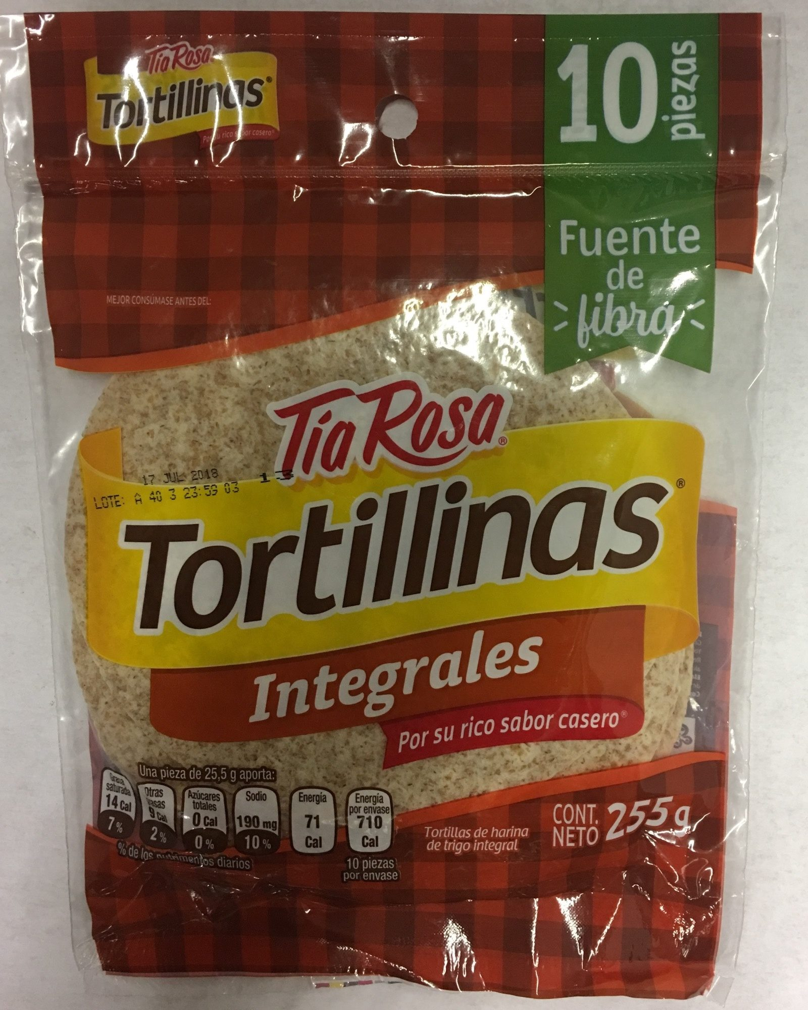 Tortillinas Integrales - Produit - fr