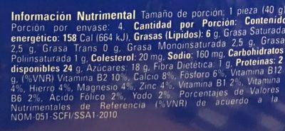 PINGÜINOS MARINELA 4 PACK - Nutrition facts