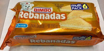 REBANADAS MULTIPACK 6 PIEZAS - Produit - es