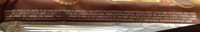 Galletas Príncipe Tentación Avellana Marinela - Ingredientes - es
